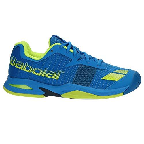 Babolat Kinder Tennisschuhe Jet Allcourt Blau (51) 36 (Kinder Tennis Jungen Schuhe)