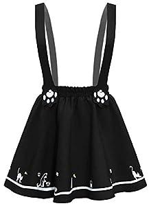 Futurino Minifalda plisada con dos