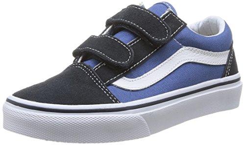 vans-old-skool-v-zapatilla-deportiva-de-lona-infantil-color-azul-talla-34