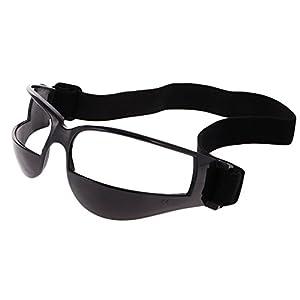 MagiDeal Basketball Trainingsgerät Basketball Dribble Trainingsbrille – beim Dribbeln ohne nach unten zu schauen Trainingshilfe Brille