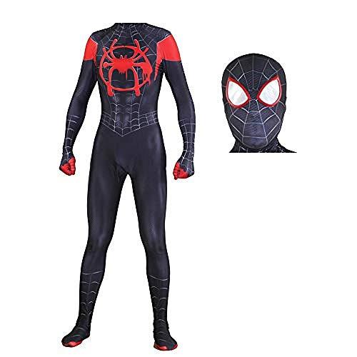 Volle Spandex Anzug - Spiderman Cosplay Kostüm Schwarze Spinne Kostüm