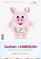 Le patron peluche cochon « LANDOLIN» se présente sous la forme dŽun manuel au format A4 de haute qualité (brochure en couleur avec reliure agrafée). Il est donc possible de commencer à coudre directement ou bien de lŽoffrir à une amie passionnée de c...