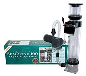 Instant Ocean SCPS-100 SeaClone Protein Skimmer, 100-Gallon by Instant Ocean (English Manual)