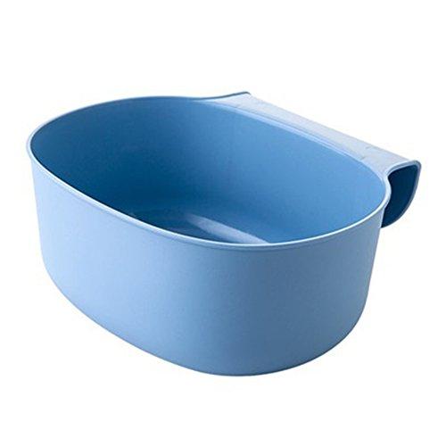 good01Küche Schrank zum Aufhängen Garbage Mülleimer kann Trash Barrel Behälter, plastik, blau, Einheitsgröße