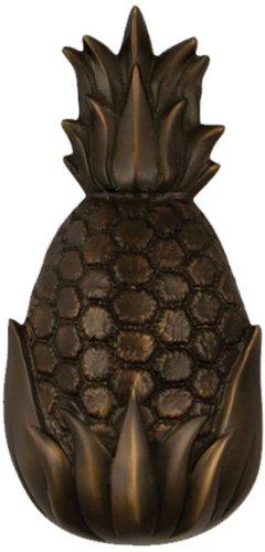 Gastfreundschaft Ananas Türklopfer-geölt Bronze (Premium Größe)