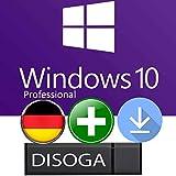 Windows 10 Professional Lizenzschlüssel mit Bootable DISOGA USB-STICK NEU