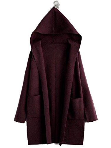 Albawear - Gilet - Femme Rouge Red Taille Unique Rouge violacé