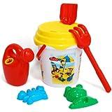 Caillou - Cubo de 21 cm con red (Saica Toys 6395)