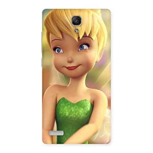 Cute Tin Cure Girl Back Case Cover for Redmi Note