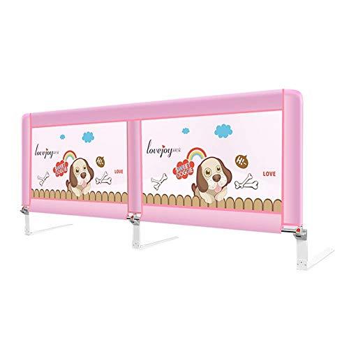 JAZC-Bettgitter Seitenschutz Für Babybettgitter, Schutzgitter Für Sicherheitsbetten, Tragbare, Herunterklappbare Design Barrier Sideboards Für Kleinkindgitter (Size : 200cm) -