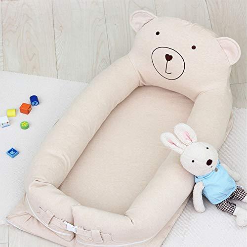 Mr.LQ Tragbares Multifunktionskrippenbett im Bett Neugeborenes BB-Baby-Schlaf-Schlaf-Babybett Bionic-Bett,Color,89x55cm