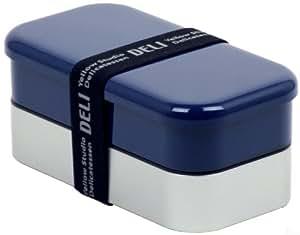 Boîte Bento DELI Homme 900ml - Bleu clair