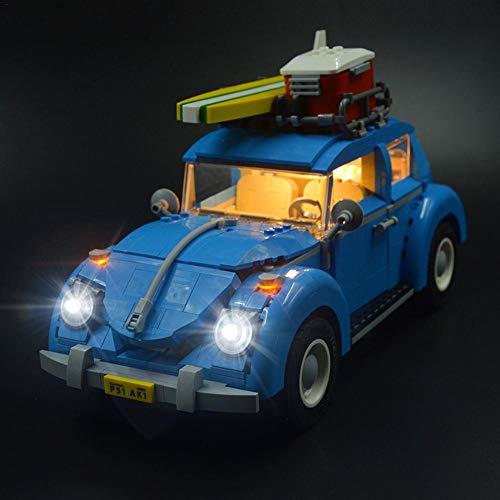 LED Beleuchtung,LED-Beleuchtungsset,LED-Leuchteinheit,LED Beleuchtung DIY Leuchtende Bausteine Zubehör,für Lego 10252 VW Käfer Modell Beleuchtung Bricks 21003-Enthält Keine Spielzeugmodelle.