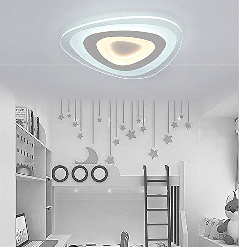 BIANJESUS LED Ceiling Light Lamps Ceiling Lights Ceiling Spotlights Living Room Bedroom Lamp Acrylic White Ceiling Lamp Hallway Lamp Dimmbar