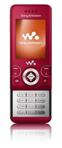 Sony Ericsson W580i Fancy/Velvet Red Handy Slider-mp3-video-player