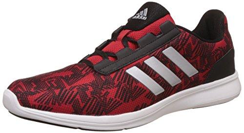 adidas Men's Adi Pacer Elite 2.0 M Scarle, Metsil and Black Running Shoes - 8 UK/India (42 EU)