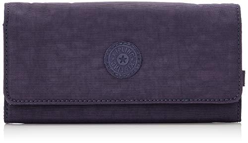 Kipling Brownie, Portefeuilles femme, Violet (Blue Purple), 3x19x10 cm (B x H T)