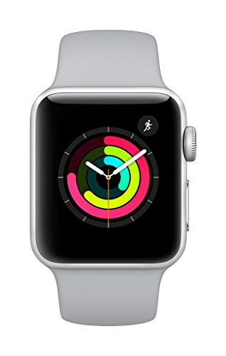 Apple-Watch-Series-3-GPS-38mm-Smart-Watch-Silver-Aluminum-Case-Fog-Sport-Band