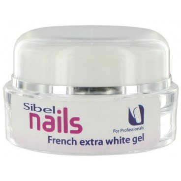 Gel Uv French Extra-White Sibel Nails 15 ML