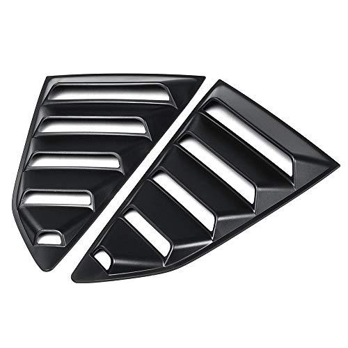 Duoying Auto Jalousie Abdeckung Auto Jalousie Abdeckung Kreative Hintere Seitenscheibe 1/4 Viertel Zubehör Auto Styling für Chevy Camaro -
