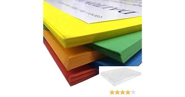 Dalton Manor carta brillante A4/confezione da 200/fogli 80/GM fornita in un Weston Clear Storage box