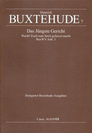 Buxtehude: Das jüngste Gericht (Anh. 3). Klavierauszug