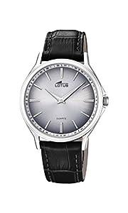 Lotus Watches Reloj Análogo clásico para Hombre de Cuarzo con Correa en Cuero 18516/1