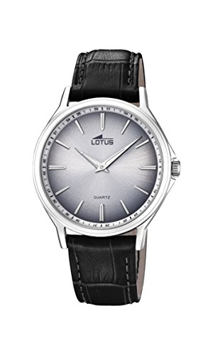 Lotus Watches Mens Analogue Classic Quartz Watch with Leather Strap 18516/1