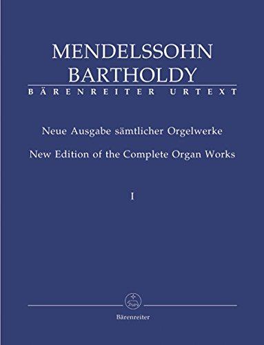 Neue Ausgabe sämtlicher Orgelwerke, Band 1. Spielpartitur