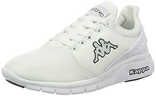 Kappa Unisex-Erwachsene New York Low-Top Weiß (White/Black)