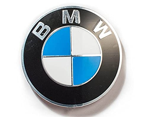 BMW centre de roue Véritable Cap Emblem Sticker Decal 70mm 36136758569