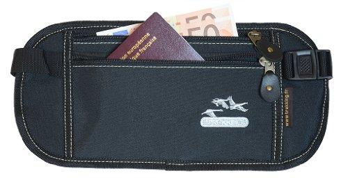 Cinturón viaje bolsillo secreto pasaporte, papeles, billetes.