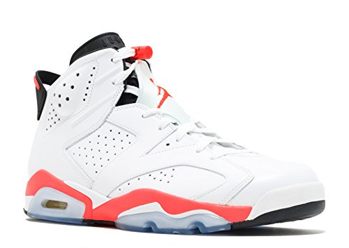 Nike - Air Jordan 6 Retro Infrared - Farbe: Rot-Weiß - Größe: 48.5EU