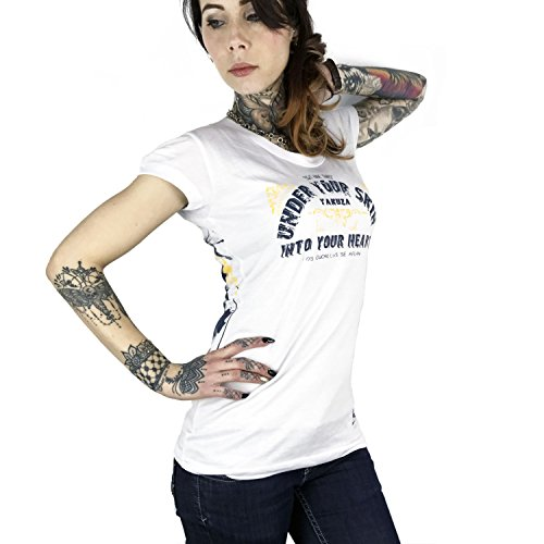 Yakuza Femme Hauts / T-Shirt An Angels Blanc