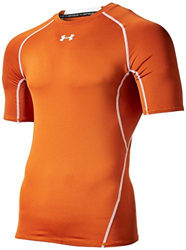 Under Armour Herren Unterhemd HeatGear Armour Texas Orange/White