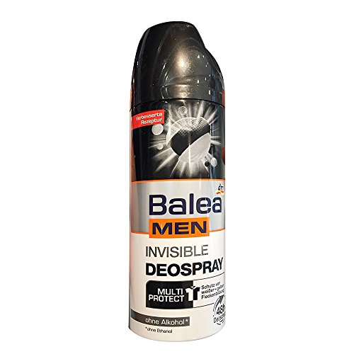 Balea MEN Deo Spray Antitranspirant invisible (200 ml, Flasche)