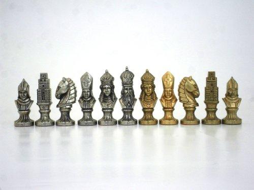 schachfiguren metall gebraucht kaufen nur 4 st bis 60. Black Bedroom Furniture Sets. Home Design Ideas