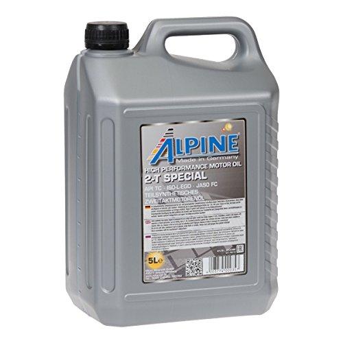 Alpine 2T Zwei-takt-öl teilsynthetisch selbstmischend 5Liter