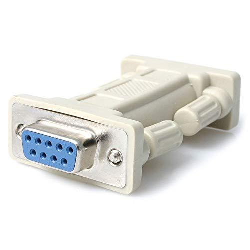 Modem-buchse (StarTech.com DB9 RS232 Serieller Nullmodem-Adapter (Buchse/Buchse))