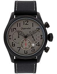 Gigandet Interceptor Montre Homme Chronographe Analogique Quartz Gris Noir G4-006