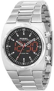 Fossil - BQ9279 - Montre Homme - Analogique et digitale - Bracelet en acier