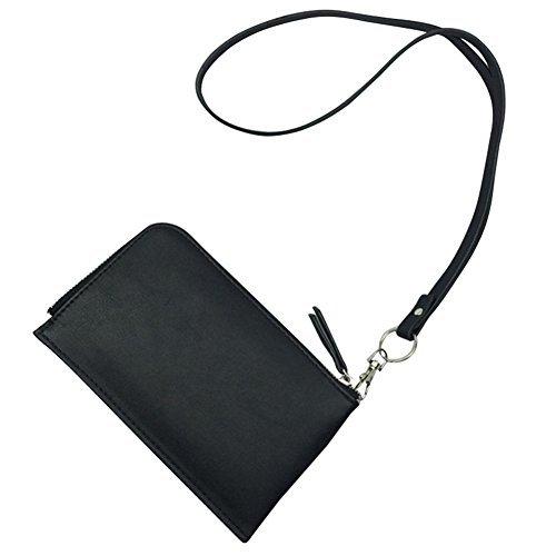 Badiya - Portadocumentos de cuello  Mujer negro negro Talla única