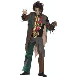 César G741-001 - Disfraz de zombie para hombre (adulto) (talla 50/52)