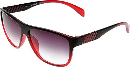 Elijaah Red Large UnisexOval Sunglasses 39063_Cherry