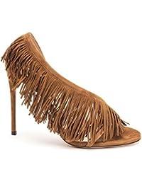 75367f937c406a AQUAZZURA Women s APAHIGS0SUE993 Beige Suede Sandals