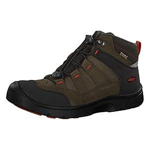Keen Hikeport Mid Wasserdichter Kinder Outdoor-Stiefel, Keen.Dry Membran für Wasserdichtigkeit und Atmungsaktivität, Schnellschnürung