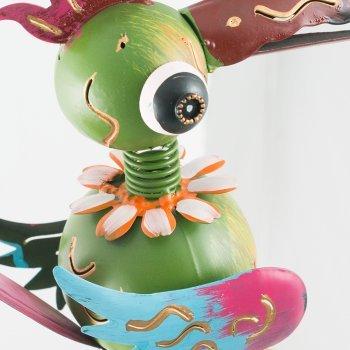 Gartenstecker - Gartenpendel Crazy Swingbirds