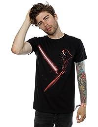 Star Wars Hombres Darth Vader Shadow Camiseta Medium Negro