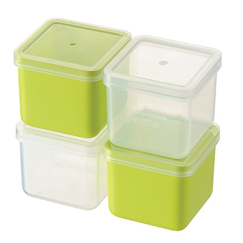 Petit cube stocker 4pc vert PC-422 (japan import)