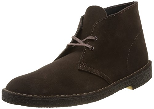 Clarks Originals - Desert Boot, Stivali Uomo Uomo, Brown Sde, 42